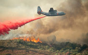 Twin Northern California blazes become largest wildfire in state history