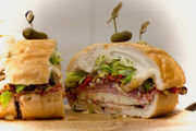 Super Bowl 2019 food: Monster sandwiches feed a hungry crowd