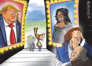 Editorial cartoons for Jan. 21, 2018: Shutdown showdown, DACA fight, Trump's physical