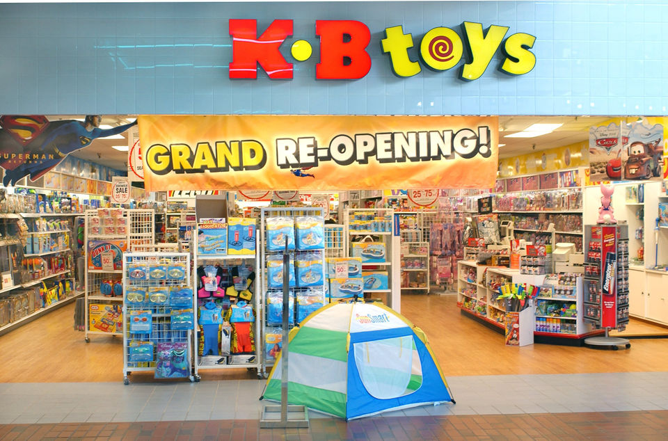 K Bee Toy Store With Toys 'R' Us on it...