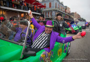 Alabama, Clemson bands and fans hit the French Quarter for Sugar Bowl parade