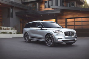 """Imagine a vehicle that actually kneels down to greet you, scans the road ahead for uneven pavement, or let's you drive with your smartphone rather than a key. It's not the stuff of dreams. It's already here and it's in the Lincoln display at the Cleveland Auto Show. The 2020 Lincoln Aviator lands at the Show this week, bringing with it a host of new technologies and an aeronautically inspired design. This three-row midsized SUV takes the category to a whole new level, while delivering on Lincoln's vision of Quiet Flight, a key brand concept that supports tenets of beauty, gliding and a crafted sanctuary. The model expected in Lincoln's display is the Grand Touring. It marks the first time the Lincoln brand has combined a twin-turbocharged 3.0-liter V6 engine and advanced electrified hybrid technology capable of delivering smooth performance and instantaneous torque. """"Aviator represents the very best of our brand DNA and signals the direction for Lincoln vehicles going forward,"""" says Joy Falotico, president, The Lincoln Motor Company. """"It offers elegance, effortless performance and unparalleled comfort – a true representation of Lincoln's vision for the future."""" Aviator offers the kind of capability premium clients require in a three-row SUV, with available all-wheel drive and a choice of gas or hybrid powertrain. The standard twin-turbocharged 3.0-liter V6 engine, paired with a 10-speed SelectShift automatic transmission, is expected to deliver an impressive 400 horsepower and 400 lb.-ft. of torque for effortless acceleration. With the hybrid option, Aviator Grand Touring's twin-turbocharged engine and advanced electrified technology is targeted to deliver even greater levels of performance. It is projected to produce 450 horsepower and a massive 600 lb.-ft. of torque. """"This is our most advanced hybrid technology,"""" says John Davis, chief program engineer, The Lincoln Motor Company. """"Together with the standard twin-turbocharged gas engine and advanced electrified Gra"""