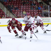 UMass hockey falls late to Boston College (photos)