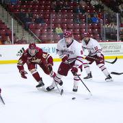 UMass hockey falls late to Boston College (photos)