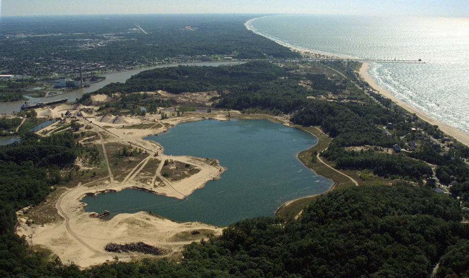Ottawa County has received a $4.2 million state grant it plans to use to purchase an inactive sand mining operation in Ferrysburg, on which it eventually plans to develop a park and potentially a county-run campground.