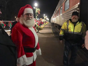 """AKRON, Ohio - More than 1,100 people recently took a trip to the North Pole on the Cuyahoga Valley Scenic Railroad's Polar Express. Now in its 25 year, the excursion features two trains that run through the Cuyahoga Valley National Park several nights each week during the holiday season. Each year, revelers wearing pajamas board the trains for the two-hour journey at either the Akron Northside or Rockside stations, filling a total of 21 historical cars. The experience is based on the popular movie and children's book, """"The Polar Express."""" Join us as we hop aboard to report on the experience."""