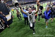 Saints a slight underdog at Baltimore on Sunday