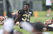 Tim Hightower among 9 tryout players at Saints minicamp