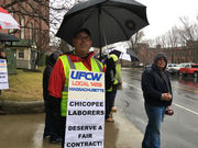 Chicopee employees join forces, more than 300 protest contract impasse
