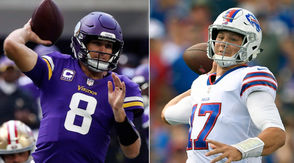MINNEAPOLIS --As difficult as the early portion of the Buffalo Bills 2018 schedule was anticipated to be, the road game vs. the Minnesota Vikings in Week 3 was what had experts thinking the Bills would let rookie quarterback Josh Allen sit and watch for awhile. But Nathan Peterman crashed and burned to start the season and Allen was handed the keys to the car last week against the Los Angeles Chargers - and now there's no looking back for the Bills. LeSean McCoy is dealing with a rib injury he suffered against the Chargers and is questionable for Sunday's game, potentially dealing a catastrophic blow to Allen in just his second career start. The Bills haven't been able to get their running game going early this season after going down 14-0 in the first quarter of both games, but without McCoy the team will be forced to count on veteran Chris Ivory and preseason standout Marcus Murphy against a scary Vikings defensive front. On defense Shaq Lawson will miss his second straight game with a hamstring injury and the defensive backfield is banged up with cornerbacks Taron Johnson and Phillip Gaines listed as questionable on the Friday injury report. After Vontae Davis up and retired at halftime last week the Bills may be vulnerable against one of the best passing games in the NFL. Oh, and Minnesota is one of the toughest places to play in the league.