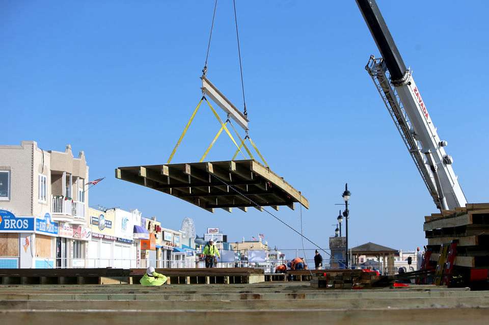 See What It Takes To Replace 90 Year Old Boardwalk In