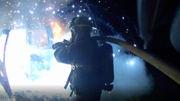 'It lights up like the 4th of July': Tammany firefighters battle truck blaze