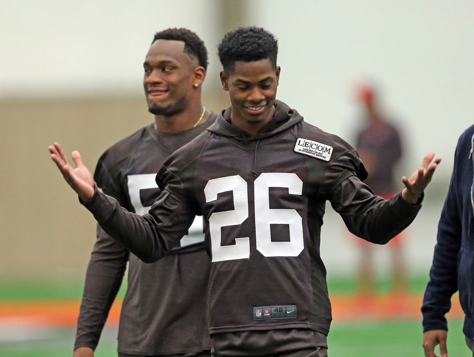 Can Greedy Williams match Denzel Ward and make the Pro Bowl as a rookie? Hey, Mary Kay!