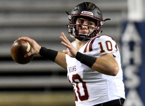 Pinson Valley quarterback Bo Nix (pictured), Hoover wide receiver George Pickens and Thompson quarterback Taulia Tagovailoa are three of the top candidates to win this year's Mr. Football Award. The Alabama Sports Writers Association will announced the winner this afternoon in Montgomery. The ASWA also will announce the back and lineman of the year for the AISA and each of the seven AHSAA classifications. Check back frequently for today's results.