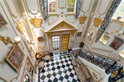 Worcester chateau features King Louis XVI-style library, indoor lap pool
