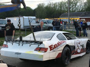 For Scott Root, it was checkers AND wreckers Saturday night at Berlin Raceway