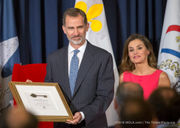 Spain's king and queen get the key to New Orleans