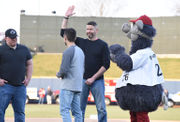 Trooper in shootout throws out 1st pitch for IronPigs home opener (PHOTOS)