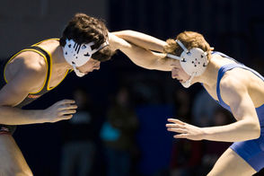 1-Luke Hoerle, Westfield (pictured above, right) 2-Larry Melchionda, Seton Hall Prep 3-Patrick Adams, St. Peter's Prep 4-Aidan Taylor, Voorhees (pictured above, left)
