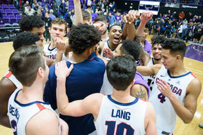 The No. 5 Gonzaga Bulldogs made easy work of the Portland Pilots on Saturday, leaving Chiles Center with an 89-66 West Coast Conference victory. Here's a look back at the evening through the photography of Ken Waz ...