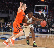 Josh Langford shakes off shooting slump to help push Michigan State past Bucknell