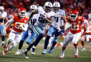 New England Patriots 'take the challenge' of Derrick Henry