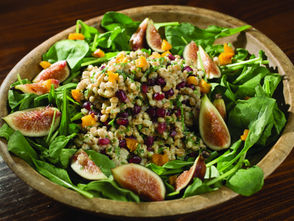 Grains play a role in a heart-healthy diet, packing quite a punch of protein into meatless meals.