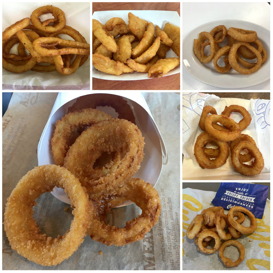 Ultimate onion rings rankings from 11 fast food chains in Greater Cleveland