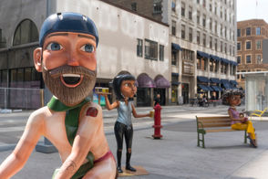 "A Travel Portland campaign called ""Meet the Portlanders"" is bringing five statues of ""positive stereotypes"" that ""represent different Portland personalities"" to San Francisco and Los Angeles."