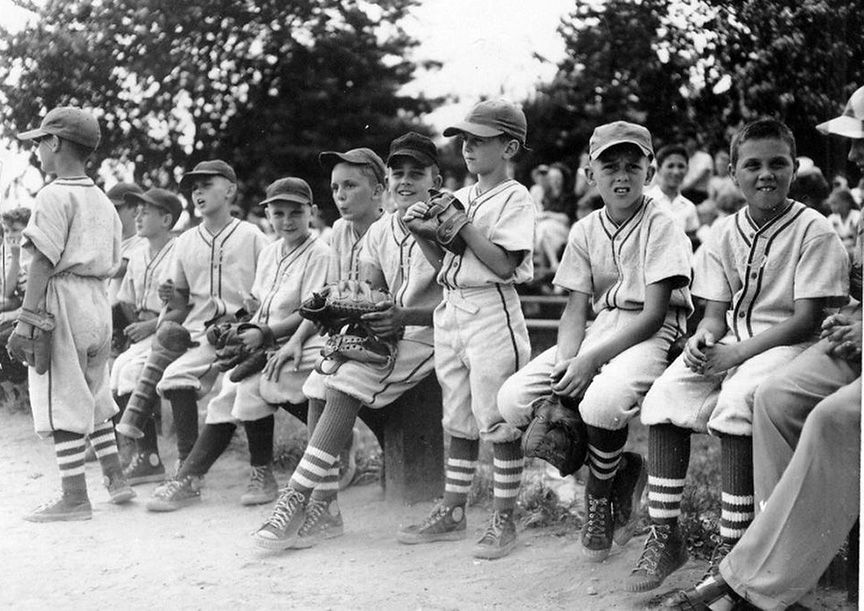 Vintage photos of baseball and softball in N.J.