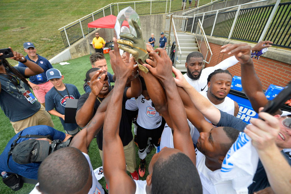 Fighting Cancer, a New Orleans-based flag football team, reaches the championship round of the U.S. Open of Football.