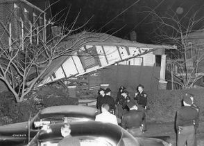 """On Christmas night 1956, a bomb ripped through the home of the Rev. Fred Shuttlesworth, days after he fought to integrate Birmingham buses. It was an experience Shuttlesworth described in an interview with the Birmingham Civil Rights Institute: """"All of a sudden, BOOM! The lights went out. I felt a pressure I've never felt before....The wall was demolished and the roof came down...The floor came out from under the bed. [I smelled] that smoke of dust [of an old] house... mixed with... acid smoke [of dynamite].....Everyone thought I was dead. ... """"I could hear a [police] officer say 'I'm so sorry....I know these people and I didn't think that they would go this far....if I were you, I would get out of town as quick as I can.' I said officer....go back and tell your Klan brethren that...the war is on and I'm here for the duration. .... """"I went and sat in back of a car....My six year old daughter curled up in my lap and looked up in my face and said, 'they can't kill us daddy, can they?' I said, no darling, they can't kill folks."""" The parsonage occupied by the Rev. Fred Shuttlesworth was destroyed by dynamite placed next to Bethel Baptist Church in Collegeville. The bombing happened on Dec. 25, 1956."""