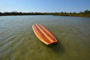 These remarkable wooden paddleboards are Michigan made, with a mission