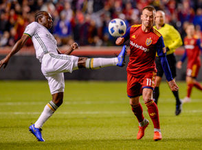 The Portland Timbers traveled to Utah for a matchup with Real Salt Lake.
