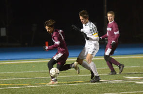 A 79th-minute goal sent Ludlow to the state final after its 2-1 semifinal win over Wachusett. (Meredith Perri)