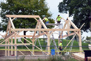 Franconia Golf Course pavilion slated for October opening, aided by MGM Springfield funds