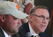 John Dorsey on Jamie Collins' big salary, Denzel Ward's Pro Bowl status, extension talks for Greg Robinson and more