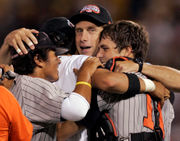 PHOTOS: Oregon State Beavers baseball coach Pat Casey through the years