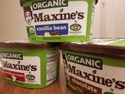 Maxine's ofrece helado orgánico, asequible