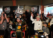 180 mph 'chess match' shortened by rain, No. 3 returns to MIS victory lane