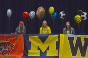 Kalamazoo-area athletes seal Division-I pledges on early signing day