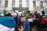 National School Walkout: Students flood Massachusetts State House, demand stricter gun laws