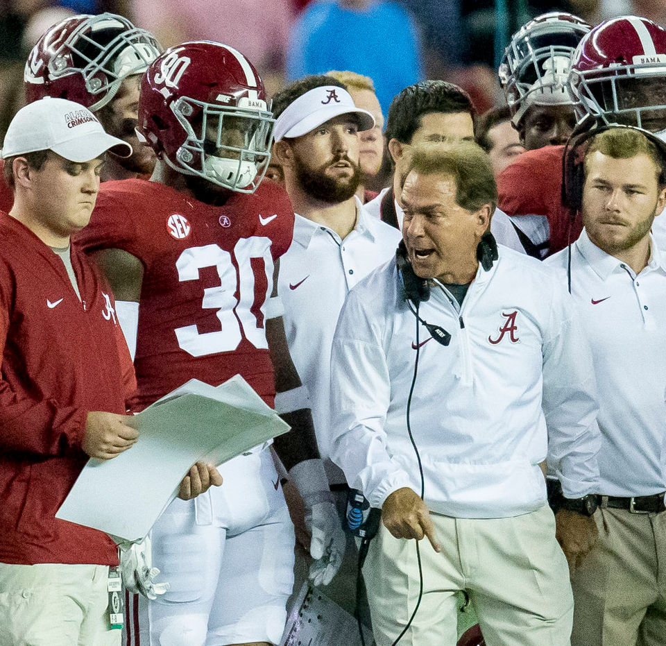 Alabama practice report: More movement in LB corps