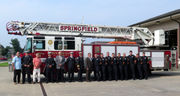 Springfield Fire Department swears in 9 new firefighters, promotes 3 longtime members