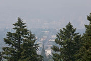 'Unhealthy' wildfire smoke blankets Portland, much of Pacific Northwest, for second day