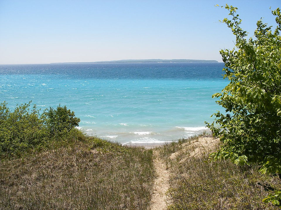 Michigan's beautiful manitou islands in one succinct (and silly.