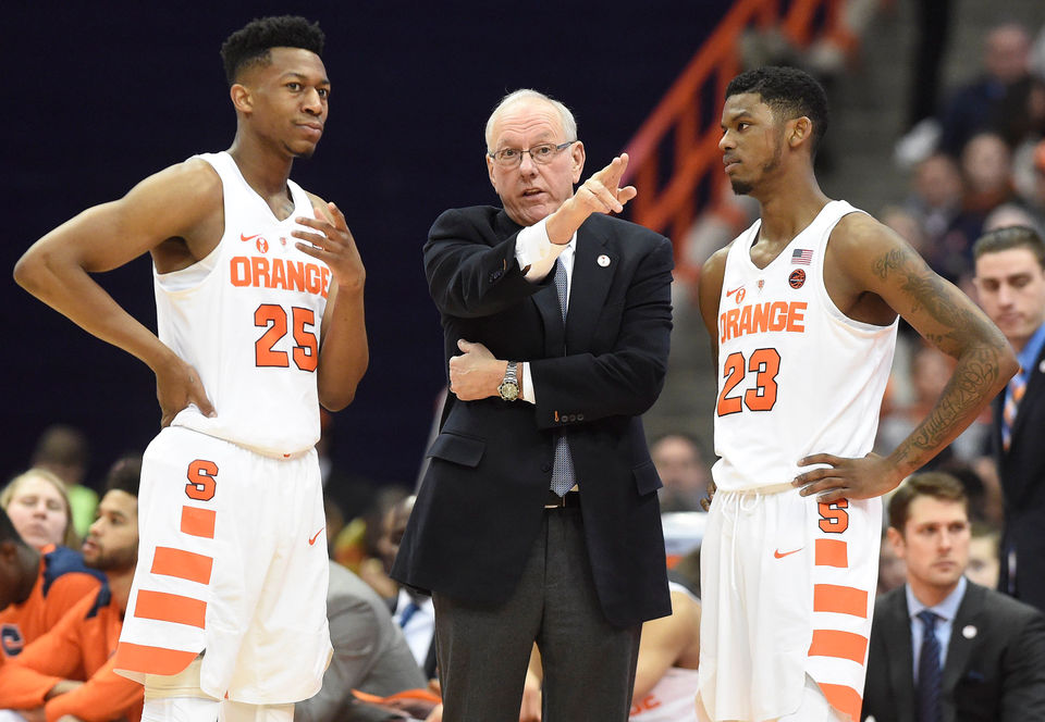 Syracuse Basketball 2018 19 Schedule Syracuse Com