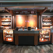 Syracha'Cuse and Syracuse Salt Company open tasting bar kiosk at Destiny USA