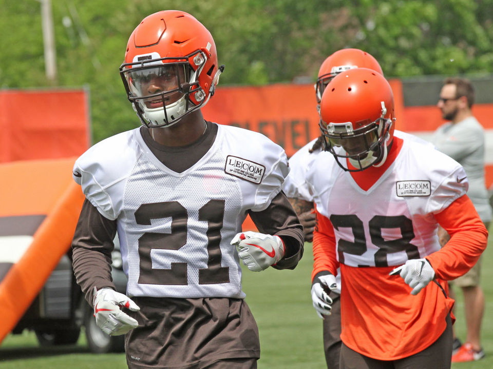 Denzelkuntz Denzel Ward Is Progressing Quickly And Patru Other Things We Learned During Browns Otas