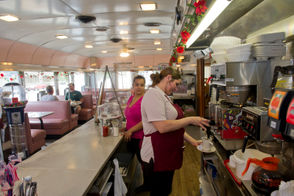 There are several good diners in the county - the Salem Oak in Salem (shown in photo); the Woodstown Diner in Woodstown, and the Point 40 in Monroeville, which makes a standout Greek salad. Hudock's Custard Stand in Quinton and Cream Valley Custard in Woodstown are must-stops in the summer, and much-better-than-average food can be found at the Corner Bar in Pilesgrove, winner of our N.J,.'s best bar showdown. Most of New Jersey has never heard of Elsinboro, but Seagraves Steak & Submarine Shop makes damn good subs. Or hoagies.